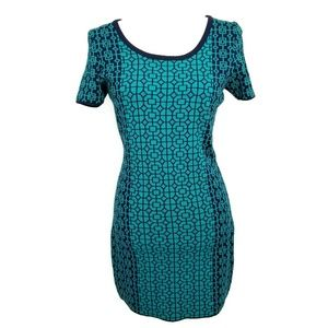 Romeo + Juliet Couture M Dress Bodycon Blue NWOT